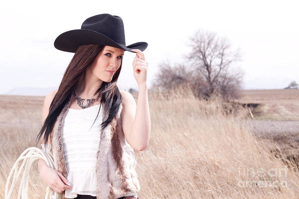 Photograph - Cowgirl by Cindy Singleton