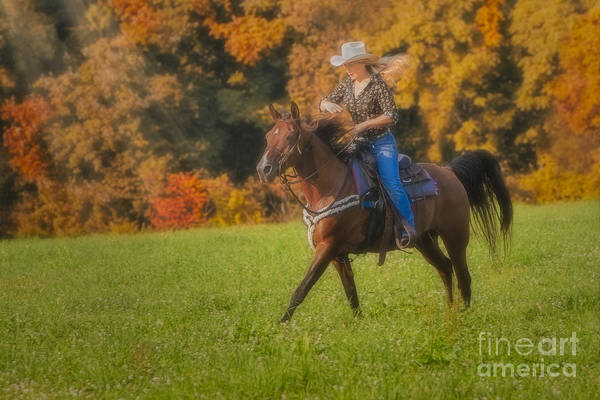 Photograph - Cowgirl by Susan Candelario