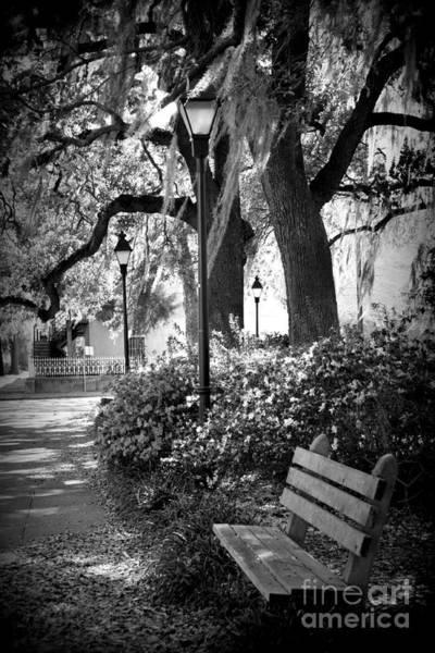 Photograph - Cozy Corner In Savannah by Carol Groenen