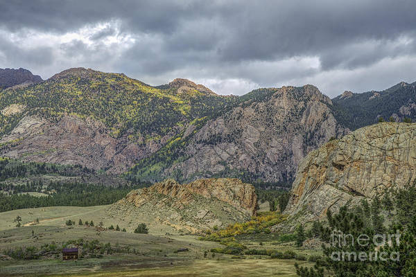 Photograph - Cr 77 Valley by David Waldrop