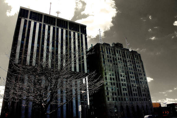 Photograph - Crack Zombie Apocalypse 1 by Scott Hovind