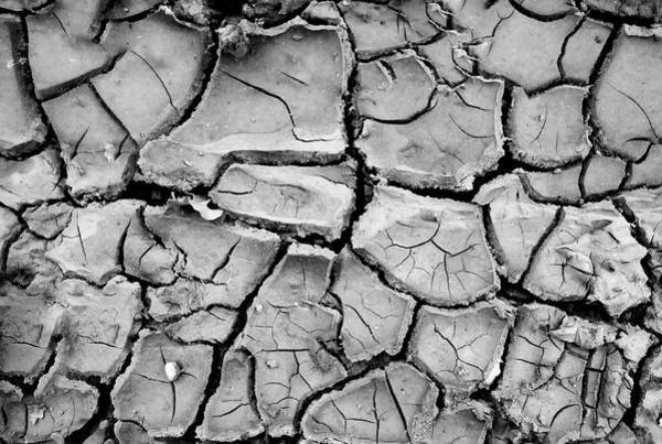 Warming Up Wall Art - Photograph - Cracked Dry Earth by Christoph Hetzmannseder