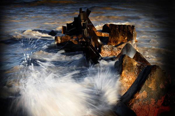 Photograph - Crashing Waves by Milena Ilieva