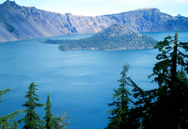 Photograph - Crater Lake by C Sitton