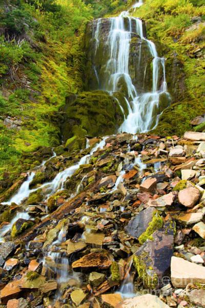 Wall Art - Photograph - Crater Lake Waterfall by Adam Jewell