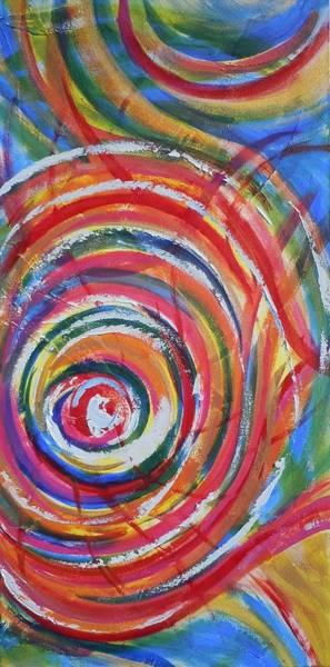 Painting - Creativity Released by Deborah Brown Maher