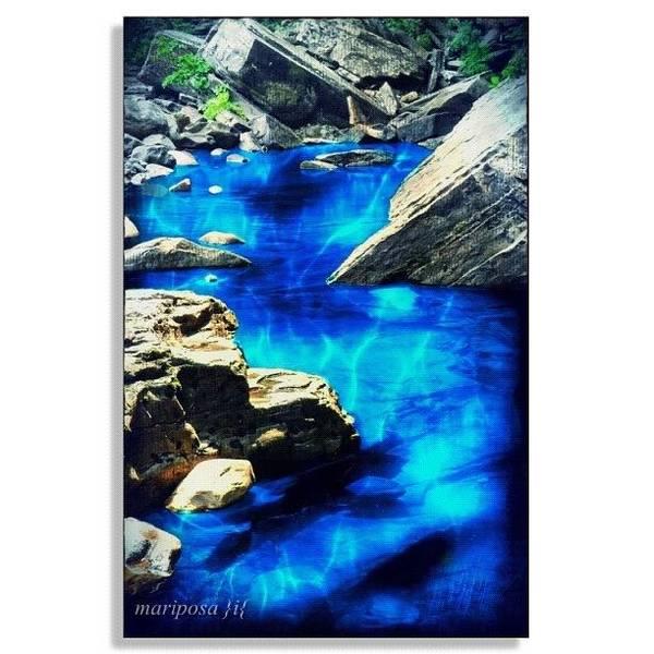 Edit Photograph - Creek by Mari Posa