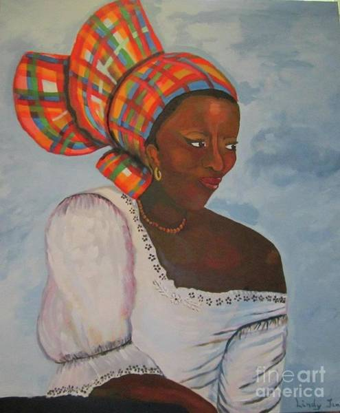 Painting - Creole Woman by Jennylynd James