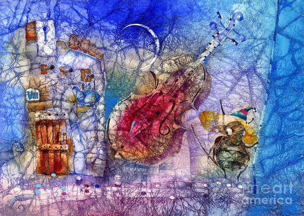 Wall Art - Mixed Media - Cricket Song by Svetlana and Sabir Gadghievs