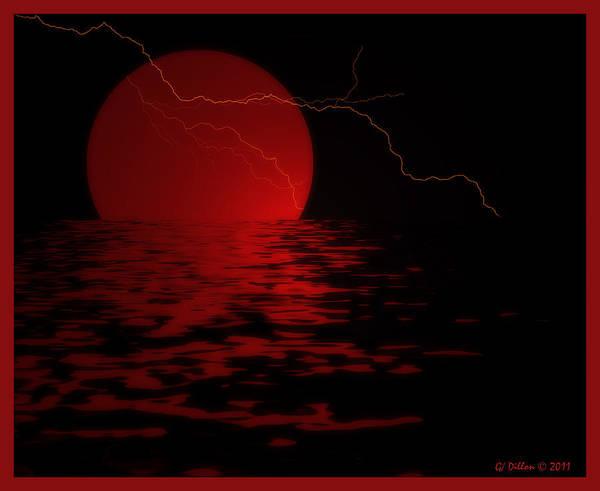 Photograph - Crimson Orb by Grace Dillon