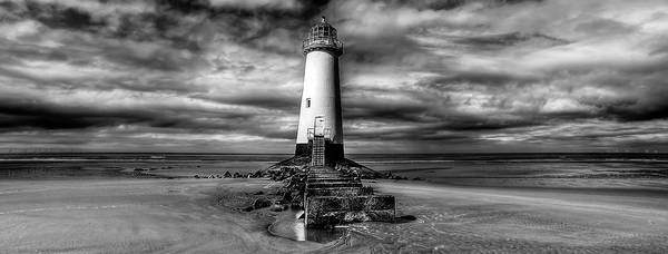 North Wales Wall Art - Photograph - Crooked Lighthouse by Adrian Evans