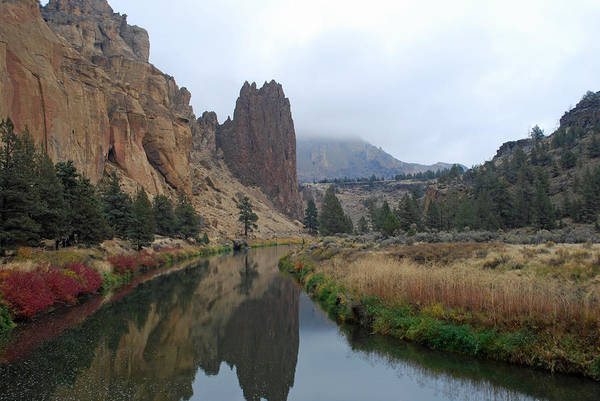 Crooked River Photograph - Crooked River At Smith Rock by Twenty Two North Photography