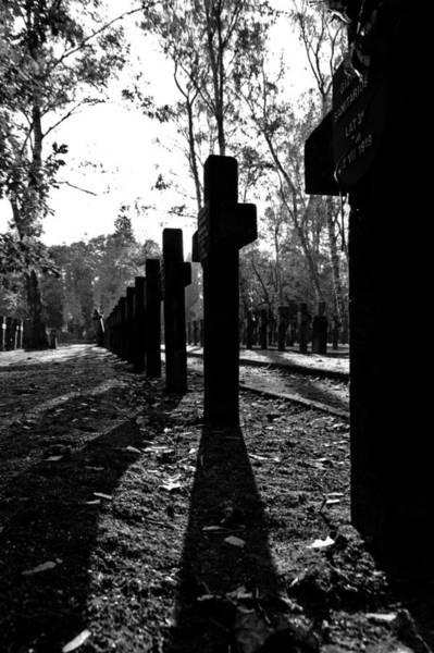 Cementery Photograph - Cross by Daniel Kulinski