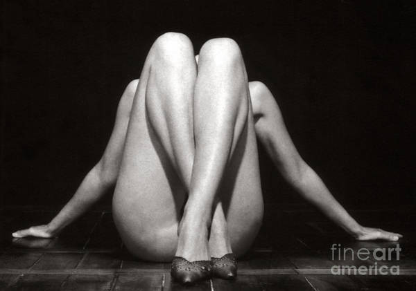 Photograph - Crossed Legs - Duplex by Silva Wischeropp
