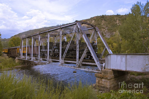 K-36 Photograph - Crossing The Animas In Durango by Tim Mulina