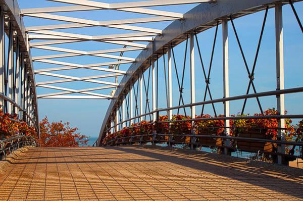 Photograph - Crossing The Bridge by Milena Ilieva