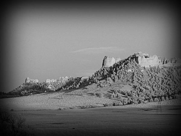 Photograph - Crow Butte  by HW Kateley