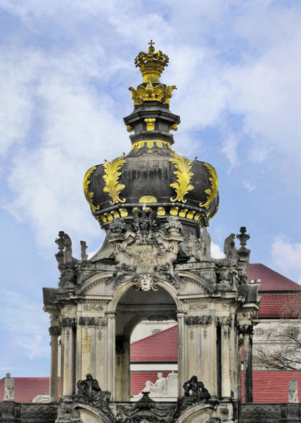 Wall Art - Photograph - Crown Gate - Kronentor Zwinger Palace Dresden by Christine Till