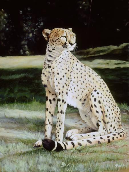 Painting - Crowned Regal by Steve Goad