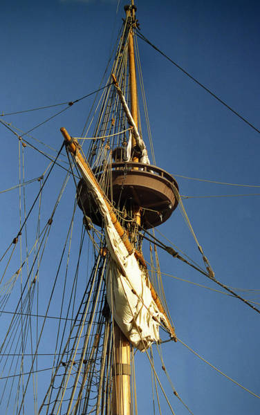 Sailing Terms Photograph - Crows Nest by Skip Willits