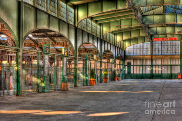 Photograph - Crrnj Terminal II by Clarence Holmes
