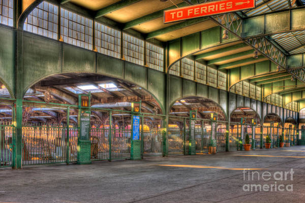 Photograph - Crrnj Terminal IIi by Clarence Holmes