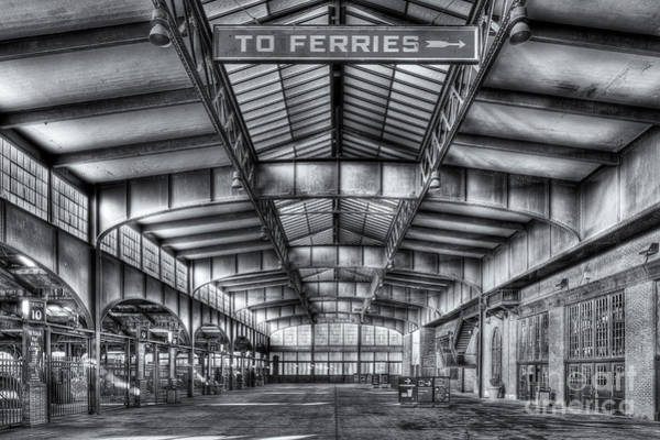 Photograph - Crrnj Terminal V by Clarence Holmes