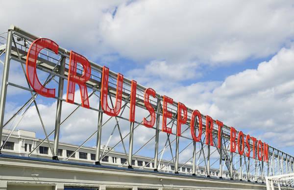 Crisscross Wall Art - Photograph - Cruiseport Boston Skyline by Luke Moore