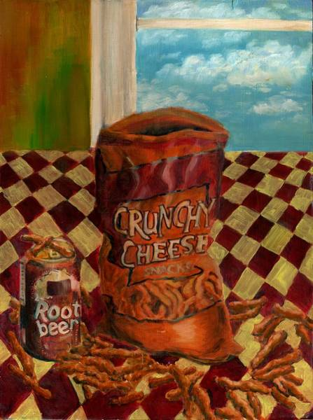 Soda Pop Painting - Crunchy Cheese - Autumn by Thomas Weeks