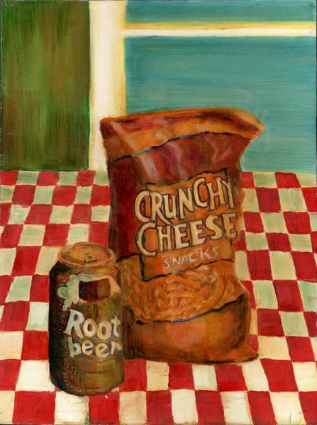 Soda Pop Painting - Crunchy Cheese - Summer by Thomas Weeks