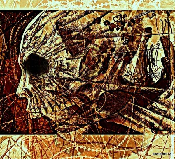 Essence Digital Art - Crush The Infinity Of My Despair by Paulo Zerbato