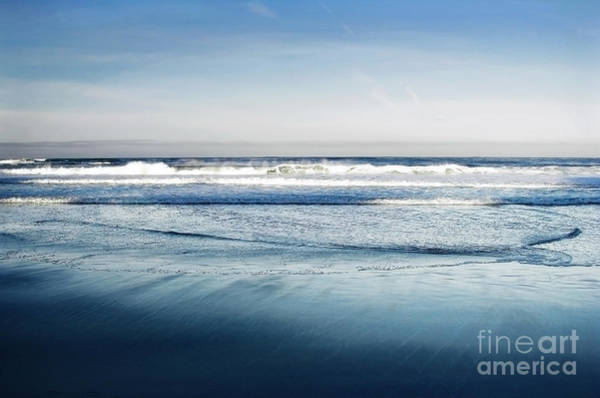 Carmel By The Sea Photograph - Crystal Blue Morning by Ellen Cotton