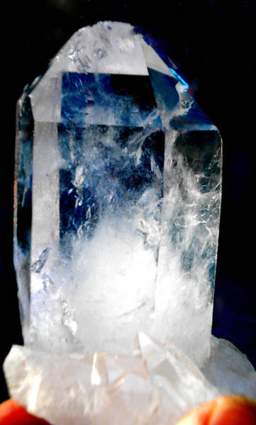 Photograph - Crystal Light by Colette V Hera  Guggenheim