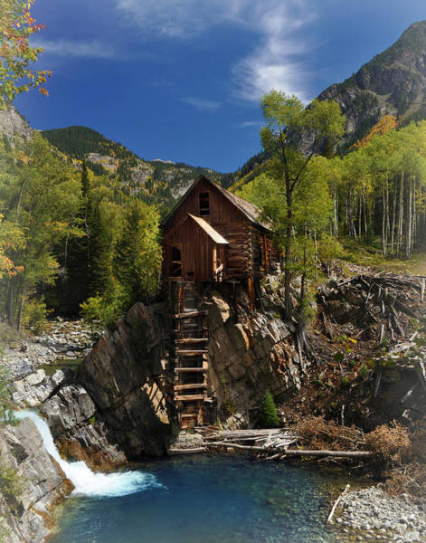 Photograph - Crystal Mill 2 by Marty Koch
