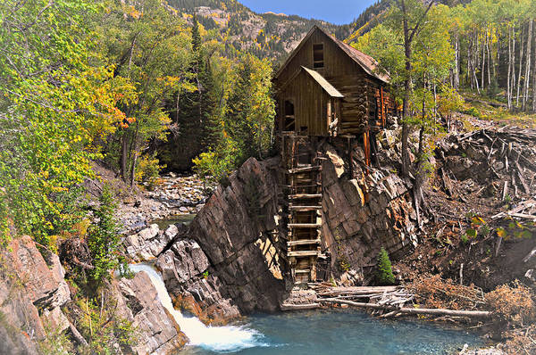 Photograph - Crystal Mill 3 by Marty Koch