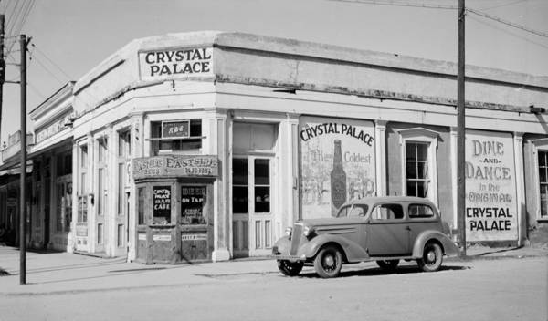Tombstone Arizona Photograph - Crystal Palace Saloon, Constructed by Everett