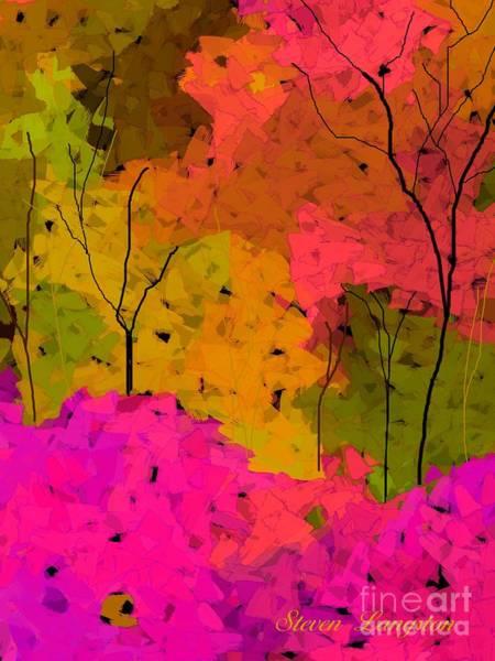 Wall Art - Digital Art - Crystal Spring by Steven Lebron Langston