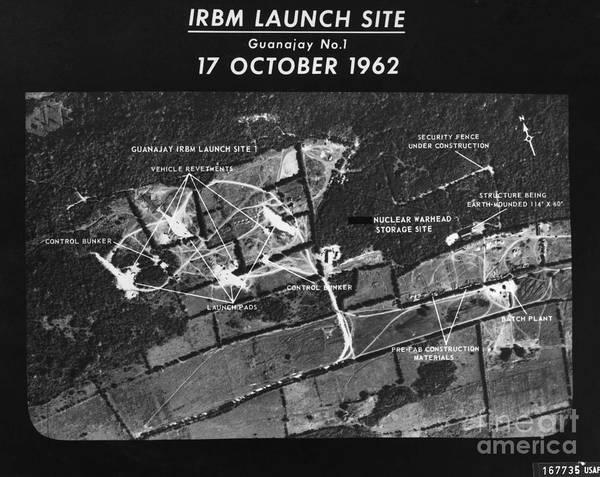 Photograph - Cuban Missile Crisis, 1962 by Granger