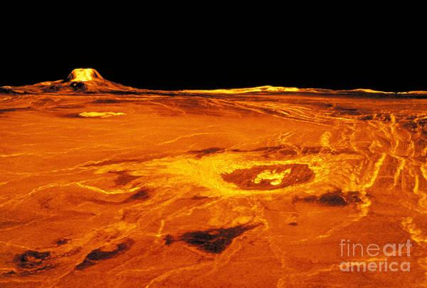 Photograph - Cunitz Crater Of Venus by Nasa