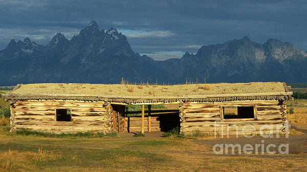 Wall Art - Photograph - Cunningham Cabin At Dawn by Sandra Bronstein