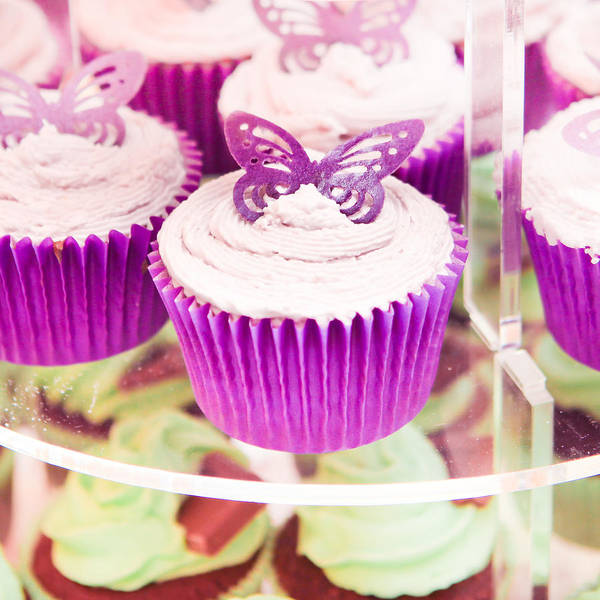 Wedding Cake Photograph - Cup Cakes by Tom Gowanlock