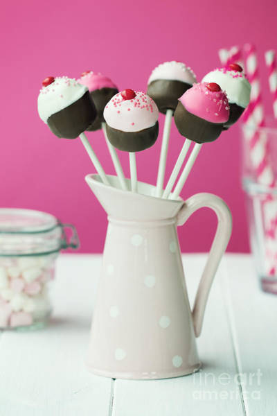 Wall Art - Photograph - Cupcake Cake Pops by Ruth Black