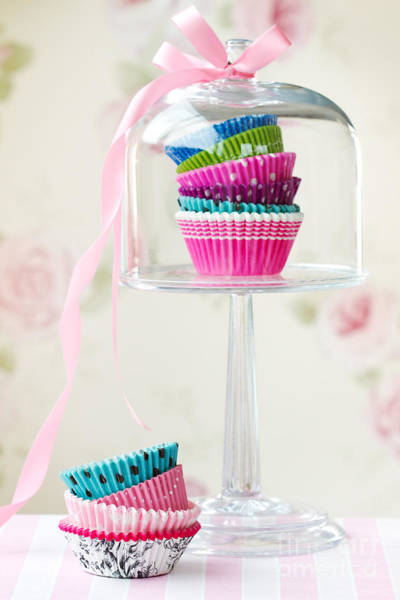 Wall Art - Photograph - Cupcake Cases by Ruth Black