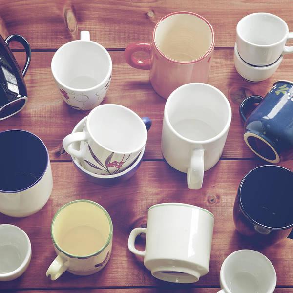Coffee Mug Photograph - Cups by Joana Kruse