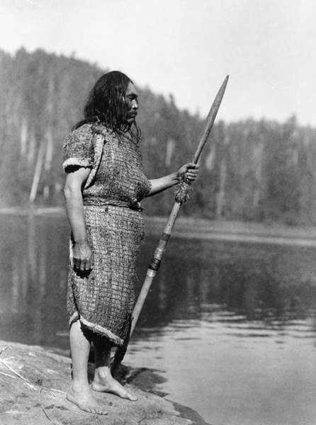 Photograph - Curtis: Nootka Man, C1910 by Granger