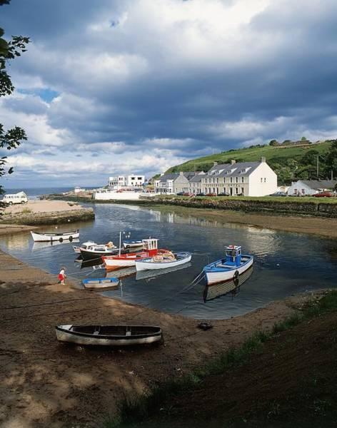 Dock Of The Bay Photograph - Cushendun, Co. Antrim, Ireland by The Irish Image Collection
