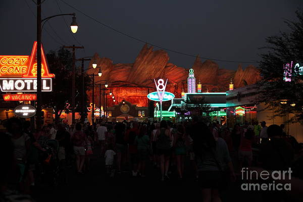 Photograph - Customers . We Have Customers At Radiator Spring - 5d17762 by Wingsdomain Art and Photography