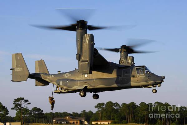 Mv-22 Photograph - Cv-22 Osprey by Stocktrek Images