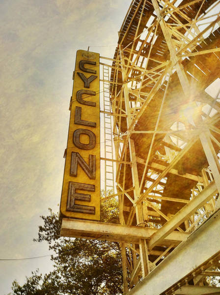 Photograph - Cyclone Sign by Frank Winters