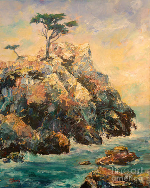 Painting - Cypress Tree by Carolyn Jarvis